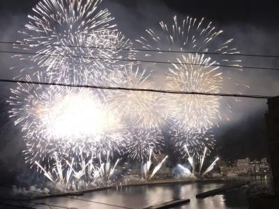 2021年 熱海花火大会をお部屋から見る《月の栖 熱海聚楽ホテル》泊