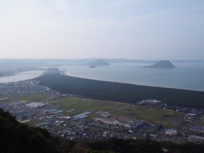 紆余曲折あったけど、2021年の初飛行も九州から!福岡3泊&佐賀1泊 ⑤ 軽い気持ちで向かったら超キツかった鏡山展望台。でも絶景☆虹の松原