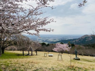 桜の季節にグランピング@ETOWA笠間(8歳&4歳)