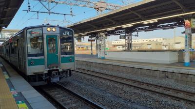 2021年春の青春18きっぷ旅第3弾 磐越東線と東北本線で帰京