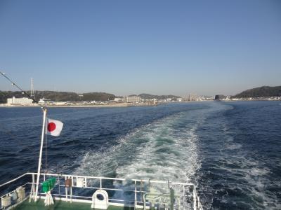 房総登山&鉄船旅・その1.東京湾フェリー/かなや丸 モーニングクルーズ。