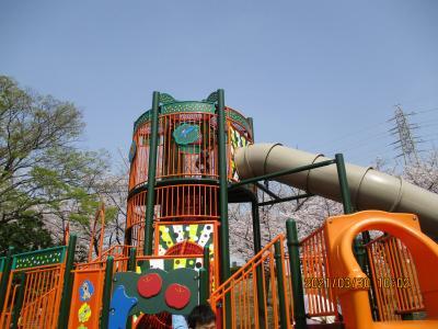 30火曜孫連れて大池公園と加木屋南公園