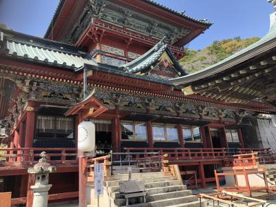 2021年03月 静岡タウン旅行 浅間神社と用宗漁港