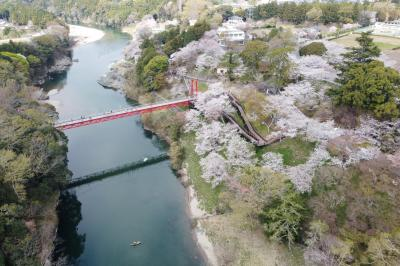新城にある桜淵公園で和船を漕いできました