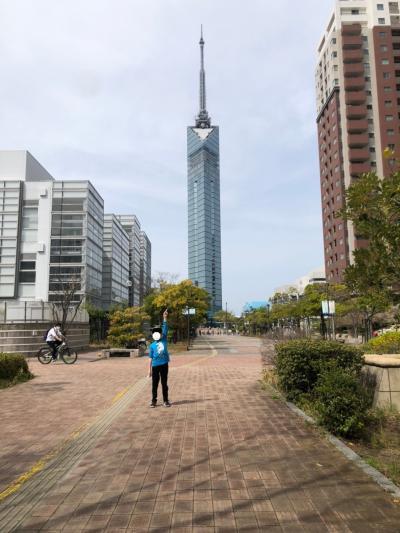 久々のシーサイドももち海浜公園、福岡タワーを訪れました。