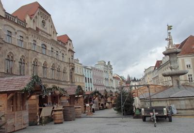 2018年オーストリア&スロヴァキアのX'sマーケット【30】シュタイヤーの町に戻って