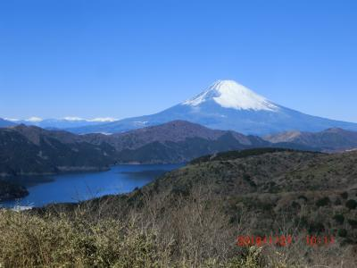 天気がいいとよく箱根に行きます。