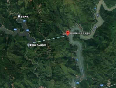 遅まきながら秘境駅「小和田」へ(2/4)新豊根発電所、富山村、大嵐駅
