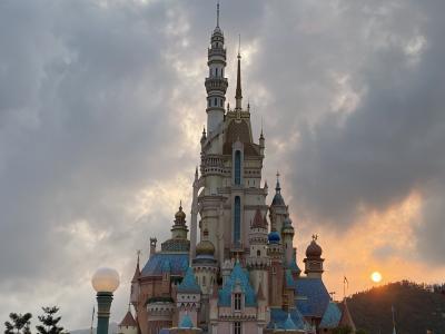 Hong Kong Disney landへgo!