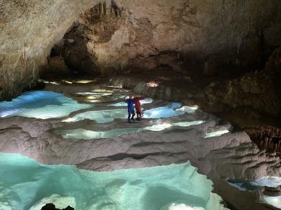 沖永良部島は絶景の宝庫&洞窟探検 その2 (銀水洞)