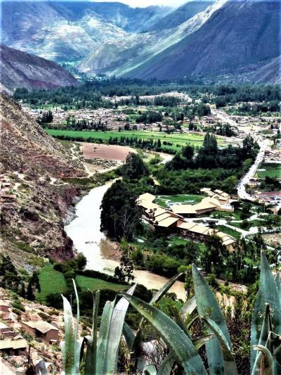 """パノラマ写真集2021 08南米の旅からクスコ郊外""""インカの聖なる谷""""の絶景 in ペルー"""