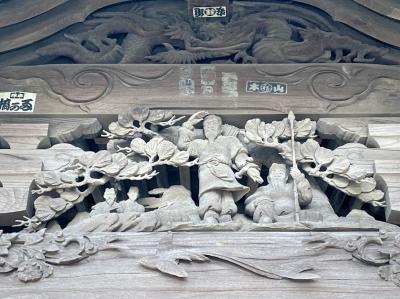 桜満開の第六天神社へ御花見ウォーキング