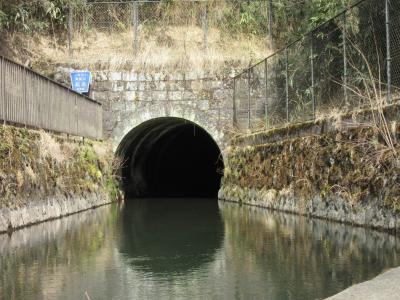 2021年3月19日:ダムカード収集-50 静岡編 350年使われ続ける深良用水(後編)深良用水出口・深良用水特別展&あしがら温泉