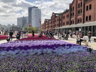 ヨコハマ・花のイベント「ガーデンネックレス横浜」へ