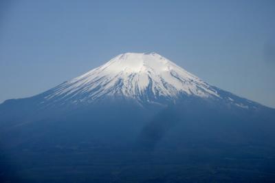 東から見る富士山 石割山・平尾山・大平山