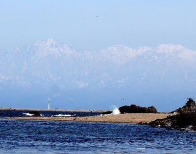 団塊夫婦の日本の絶景を巡るドライブ・春の富山ー(3)海の幸&北アルプスの絶景?・氷見へ