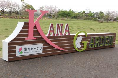 桜の季節に!花菜ガーデンへ