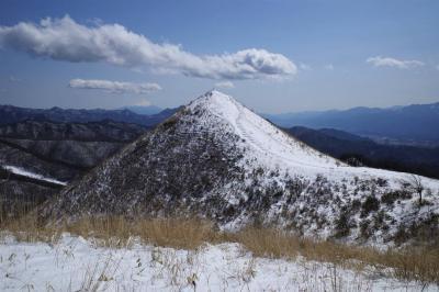 飯盛山 八ヶ岳展望の山へ雪山ハイキング