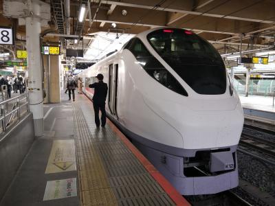 '21 春の福島・宮城駅さんぽ1 特急ひたちでいわき駅~常磐線で夜ノ森駅に移動
