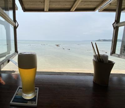 2021沖縄 弾丸で絶景カフェめぐり。浜辺の茶屋、食堂かりか、百名伽藍カフェ。バスでの行き方