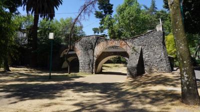 メキシコ市邸宅街巡り、第3弾。チマリスタクはサンアンヘルとコヨアカンの間にあります。