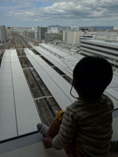 博多バスターミナルからバスステーション博多へコネクティッド!&博多駅屋上にドリームつばめデビュー