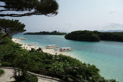 春の石垣島3日間<2日目>路線バスで川平湾、グラスボート乗船、バニラデリ、海とプール、大戸屋