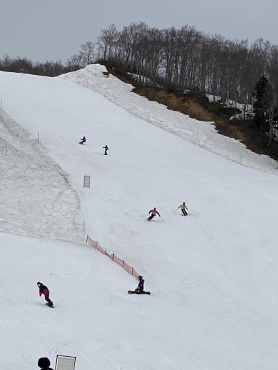 ガーラ湯沢スキー場還暦過ぎた4人
