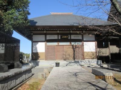 流山市の鰭ヶ崎・東福寺・流山100か所めぐり(83)・千仏堂