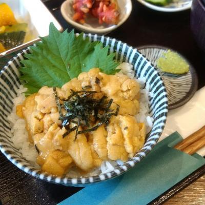 仙台で雲丹・牛タン・水煮牛肉を味わい、ニッカ工場へ行く週末