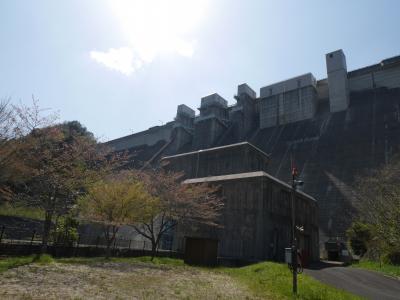 八田原ダムと夢吊橋
