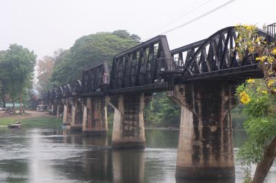 カンチャナブリ『戦場に架ける橋』クウェー川鉄橋 No.3. 3月/2021