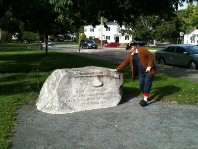 マサチューセッツ州 レキシントン - アメリカの独立戦争はここから始まりました。