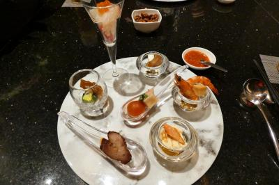 年末年始のエクシブ8連泊 エクシブ湯河原離宮 中国料理 翠陽の昼食