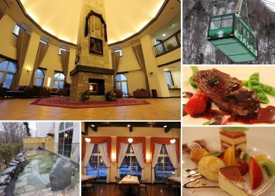 森の中の北欧風リゾート温泉マウレ山荘&大雪山黒岳ロープウェイ