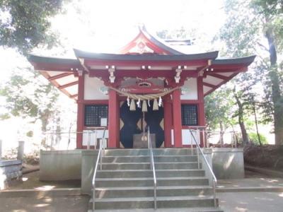 柏市の中新宿・富士浅間神社・合祀社