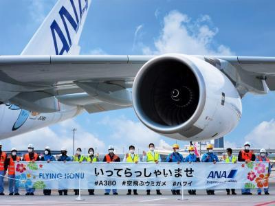 ANA FLYING HONUチャーターフライト体験記 ~4/11 A380フライングホヌ遊覧飛行~