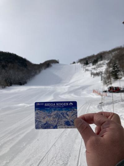 2021年03月 志賀高原スキー場に行ってきました。