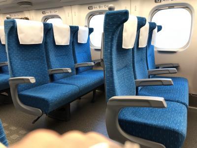 新幹線ガラガラ 東京日帰り 2021年4月