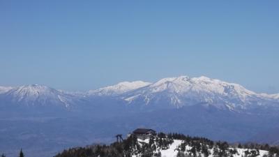志賀高原で春スキー