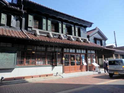 会津若松、レトロな野口英世ストリート。