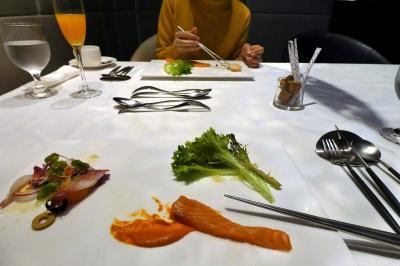 31.年末年始のエクシブ8連泊 エクシブ湯河原離宮 イタリア料理 リストランテ マレッタの連泊メニューの朝食 ノンストップチェックアウト