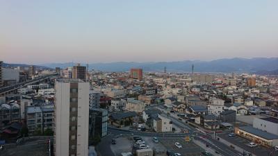 横浜から長野に転勤 荷物搬入までJALシティとメルパルク長野に宿泊