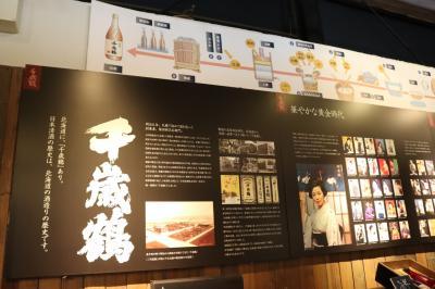 千歳鶴酒ミュージアム訪問
