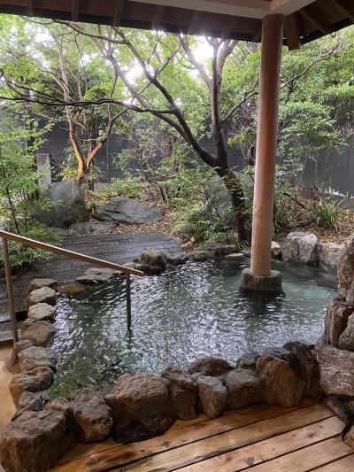 天然田園温泉 ふかほり邸に泊まる