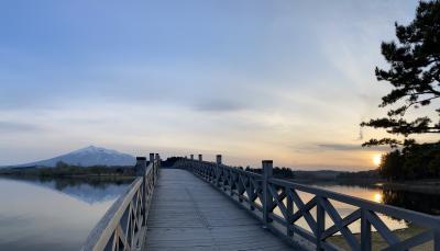 青森女ひとり旅2泊3日 (1) - 鶴の舞橋へ