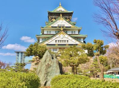 春めく大阪城をのんびり満喫♪