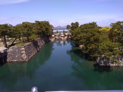 うどん旅 ④香川県庁~玉藻公園高松城跡