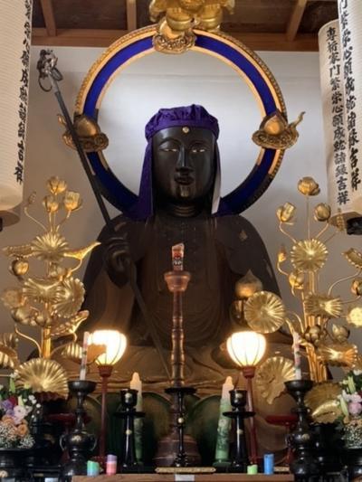 妙覚禅寺の大仏を見に