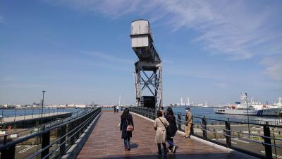 4月の平日に横浜ハンマーヘッド、海上保安資料館、山下公園等を観光。